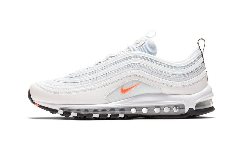 Nike Air Max 97 cone release info sneakers white metallic silver 6aabc0194a