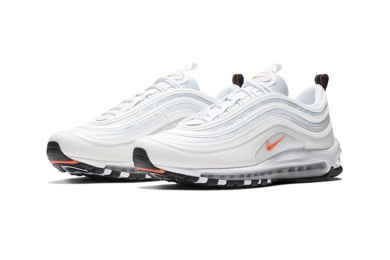 Nike Air Max 97 cone release info sneakers white metallic silver