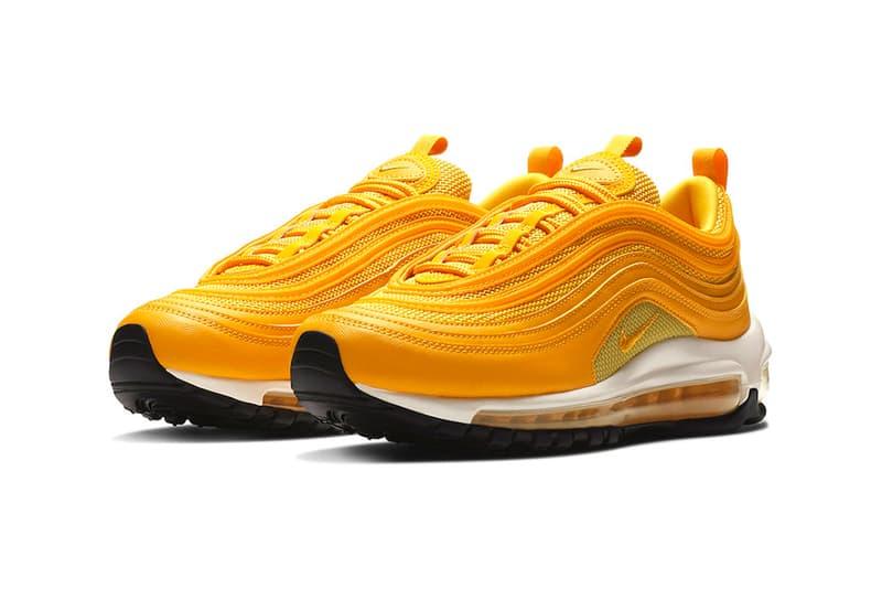 Nike Air Max 97 Mustard Release Tonal yellow swoosh