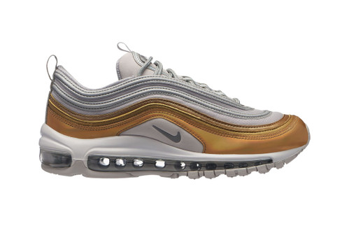 """Nike's Air Max 97 Fuses the """"Silver Bullet"""" With """"Metallic Gold"""""""