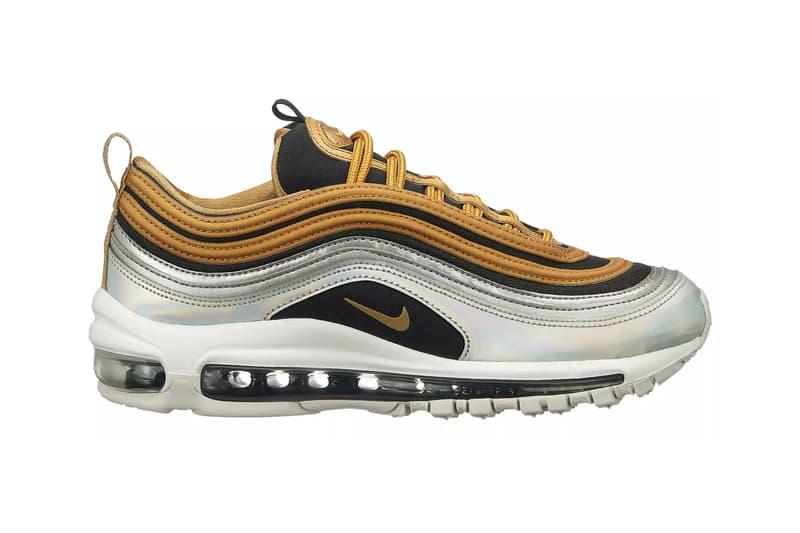 "Nike Air Max 97 SE ""Metallic Gold/Metallic Silver"" Release Date sneaker"