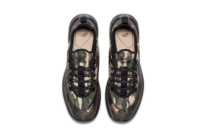 nike air max axis green camo nike sportswear 2018 footwear