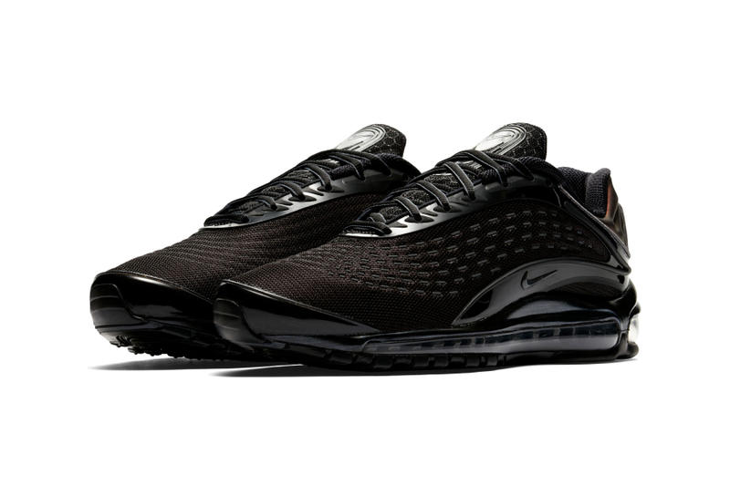 "Nike Air Max Deluxe ""Triple Black/Bronze"" sneaker colorway release date info price footwear"