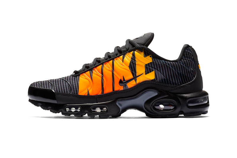 super popular ccd81 2f61a Nike Air Max Plus SE black orange