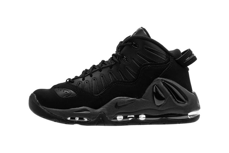 42127254ba68 Nike Air Max Uptempo 97 Triple Black Colorway Release Details Shoes  Sneakers Trainers Kicks Footwear Cop