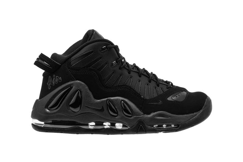 Nike Air Max Uptempo 97 Triple Black Colorway Release Details Shoes Sneakers Trainers Kicks Footwear Cop Purchase Buy