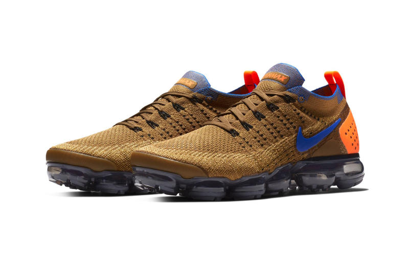 Nike Air VaporMax 2 Fall winter 2018 first look sneakers brown blue orange