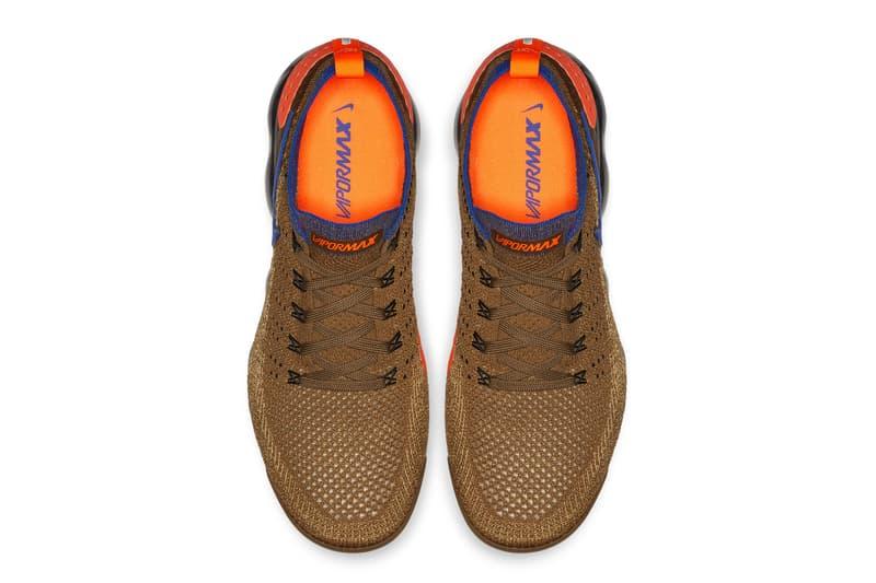 dc4c028c822 Nike Air VaporMax 2 Fall winter 2018 first look sneakers brown blue orange