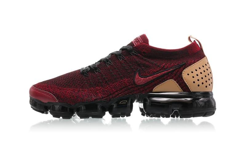 6c3737361ad2b Nike Air VaporMax 2 Team Red black vachetta tan release info sneakers