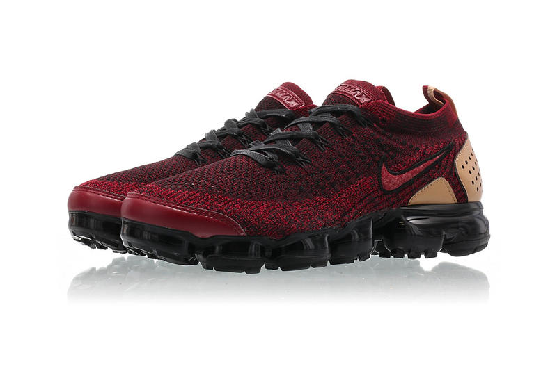 8908293feb Nike Air VaporMax 2 Team Red black vachetta tan release info sneakers