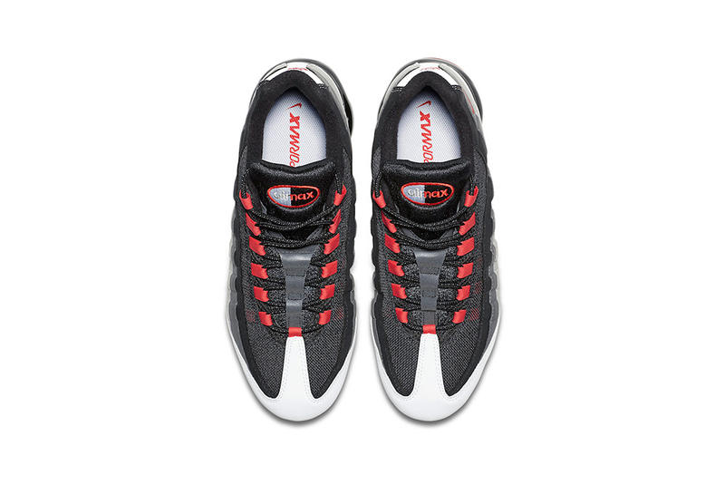 74a14a88c2 nike air vapormax 95 hot red 2018 footwear nike sportswear black white grey  solar gray am95