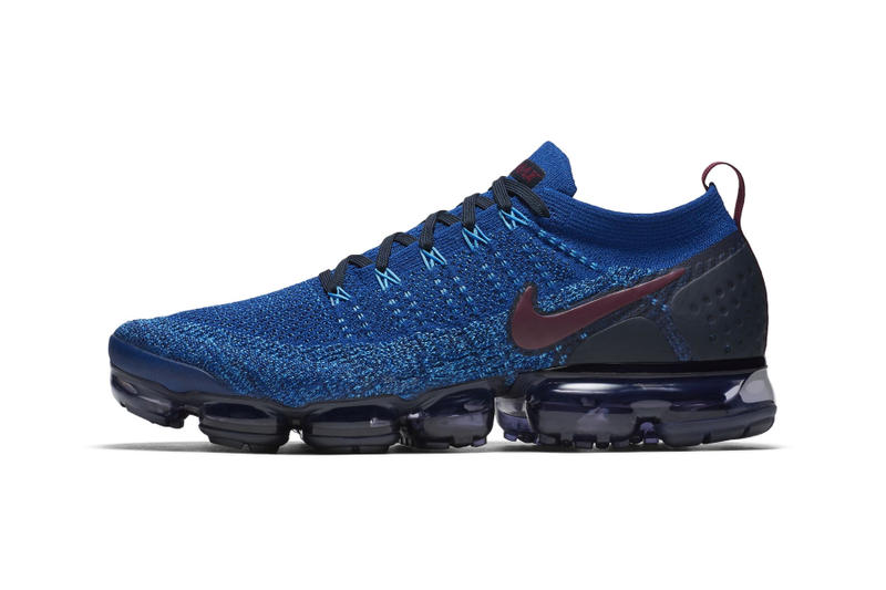 7205ea088e3d Nike Air VaporMax Flyknit 2 blue grape colorway sneaker first look release  date price purchase