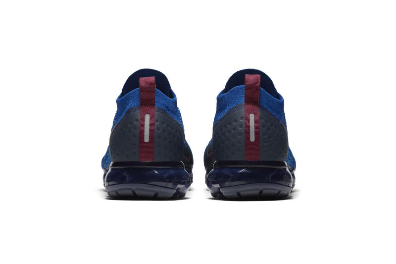 8dd6b43f010 Nike Air VaporMax Flyknit 2 blue grape colorway sneaker first look release  date price purchase