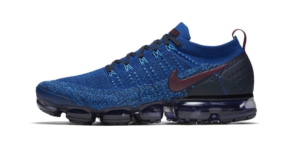 36d6e4beba Nike Air VaporMax Flyknit 2 Blue/Grape Colorway | HYPEBEAST