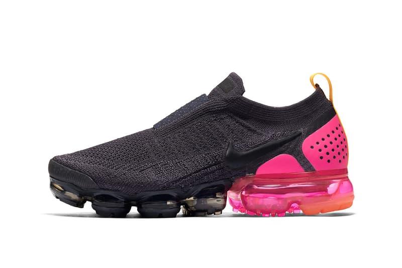 c71b4f7427d19 Nike Air VaporMax Moc 2 Pink Blast Release Info Buy sneaker grey