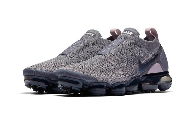 Nike Air VaporMax Moc 2 Triple Grey Gunsmoke Blackened Blue Thunder Grey Particle Rose