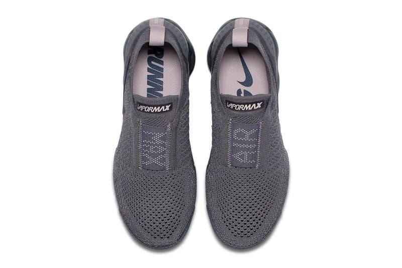 Nike Air VaporMax Moc 2 Triple Grey Gunsmoke Blackened Blue Thunder Grey Particle Rose