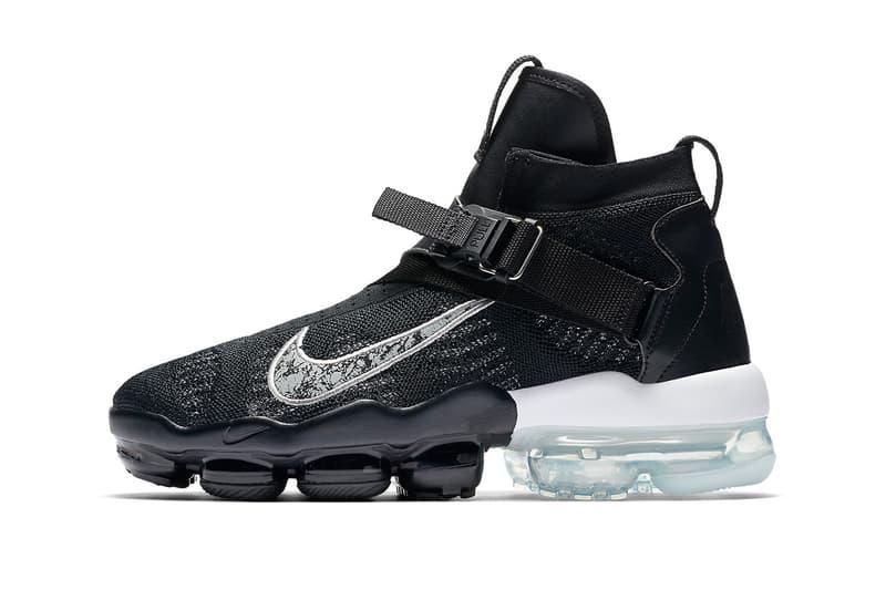 "Nike Air VaporMax Premier Flyknit ""Black/Metallic Silver"""