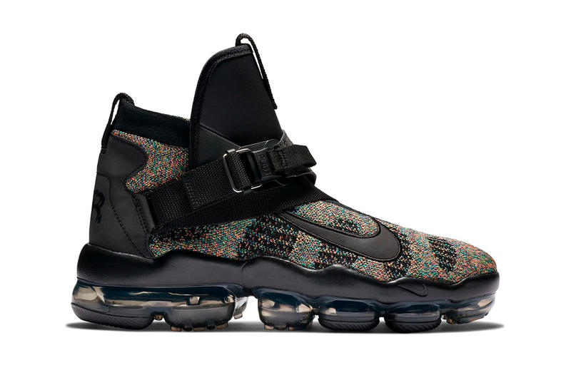 Nike Air VaporMax Premier Flyknit First Look Info Black Grey White Multicolor