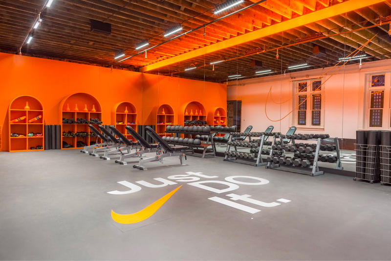 Nike Chicago Church Basketball Facility just do it headquarters hq