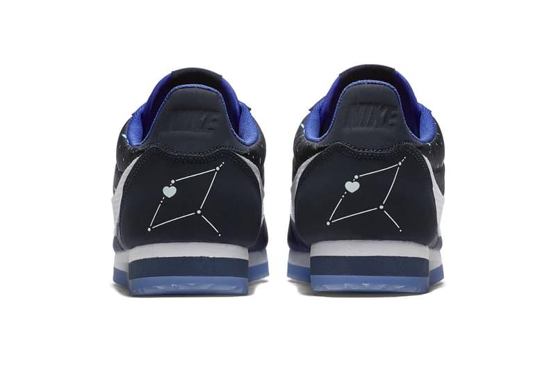 "Nike Classic Cortez Nylon ""Qixi Festival"" Release Date colorway sneaker"