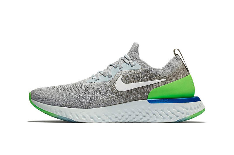 Nike Epic React release info Wolf Grey Dark Stucco Cobalt Blaze Lime Blast