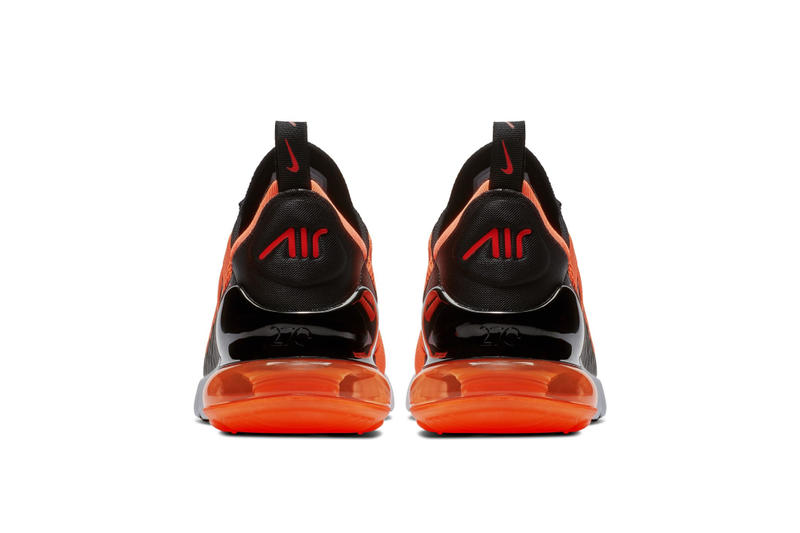 Nike Air Max 270 Total Orange first look release date sneaker colorway TOTAL ORANGE BLACK WHITE CHILE RED