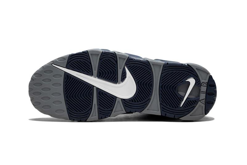 Nike More Uptempo Georgetown Colorway sneakers scottie pippen Georgetown University Sports Basketball Nike Air kicks streetwear hypebeast