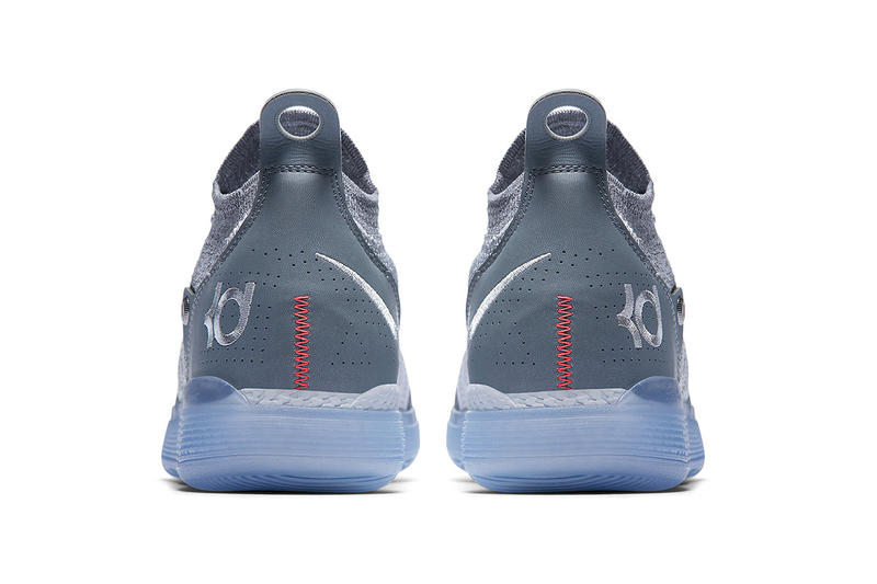 50ca4fd5e2ff nike kd11 cool grey kevin durant nike basketball footwear 2018