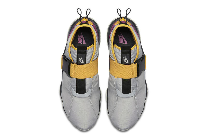 """Nike Komyuter ESS """"Pro Gold/Rave Pink"""" Release ACG Colorway Official Look release info price purchase sneaker footwear Granite Black Pro Gold Rave Pink military inspired kicks"""