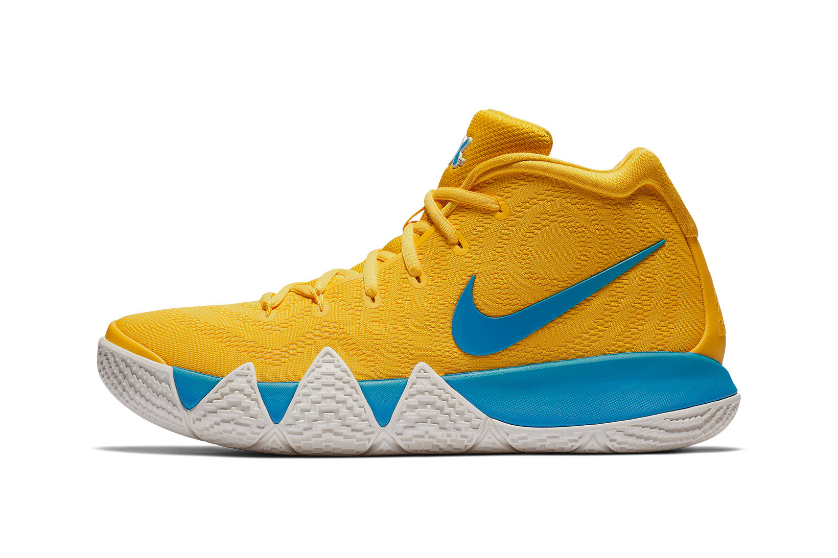 kyrie 4s yellow