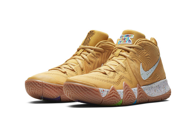 nike kyrie 4 cereal pack nike basketball kyrie irving 2018 august cinnamon toast crunch kix lucky charms
