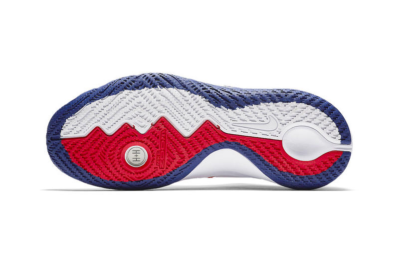 Nike Kyrie Flytrap red white blue release info kyrie irving sneakers