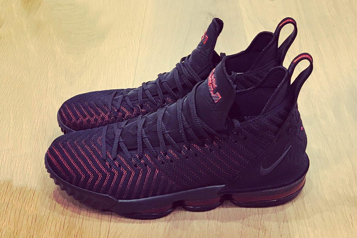 LeBron James Officially Debuts Nike