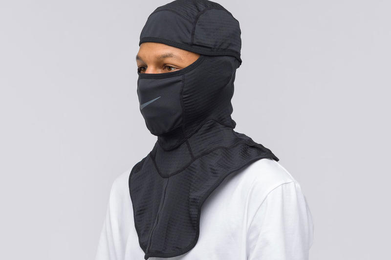 nike matthew m williams balaclava controversy gang culture pull stop selling drop store collaboration black headgear mask face remove backlash