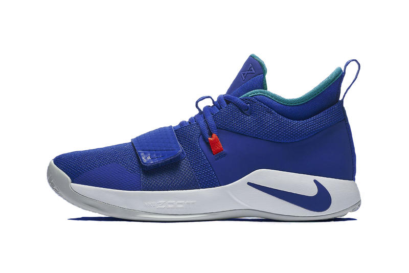 59816dd770fb Nike PG 2.5 Sneaker in  Fortnite  Blue Colorway
