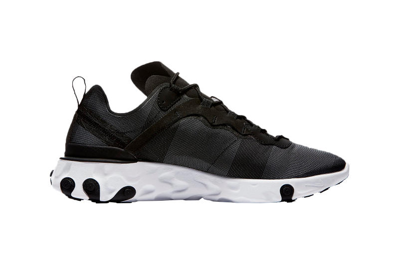 Nike React Element 55 Black White Jade New Colorways Footwear Shoes Sneakers Trainers Cop Purchase Buy 87