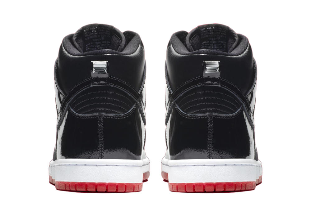 """Nike SB Dunk High """"Bred"""" Official Images Imagery Release Date"""