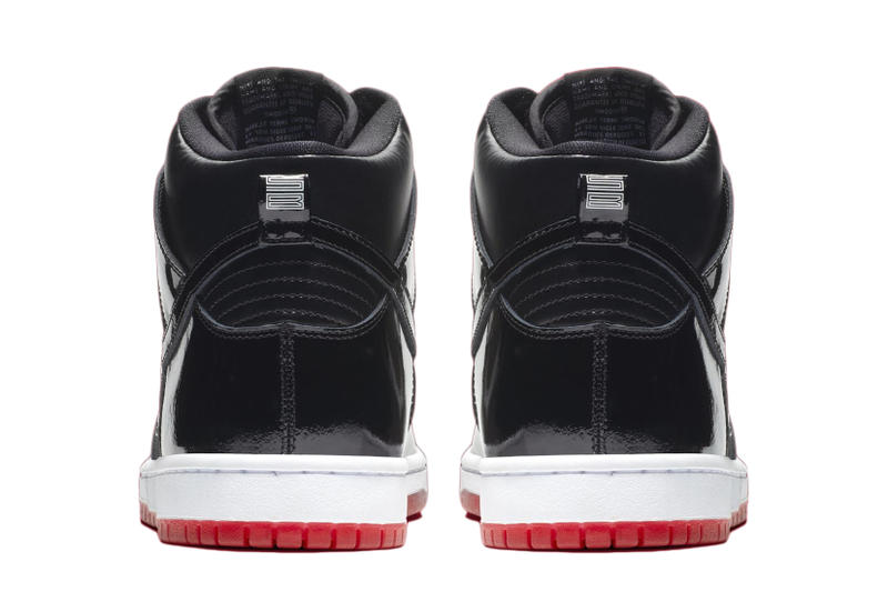 "Nike SB Dunk High ""Bred"" Official Images Imagery Release Date"