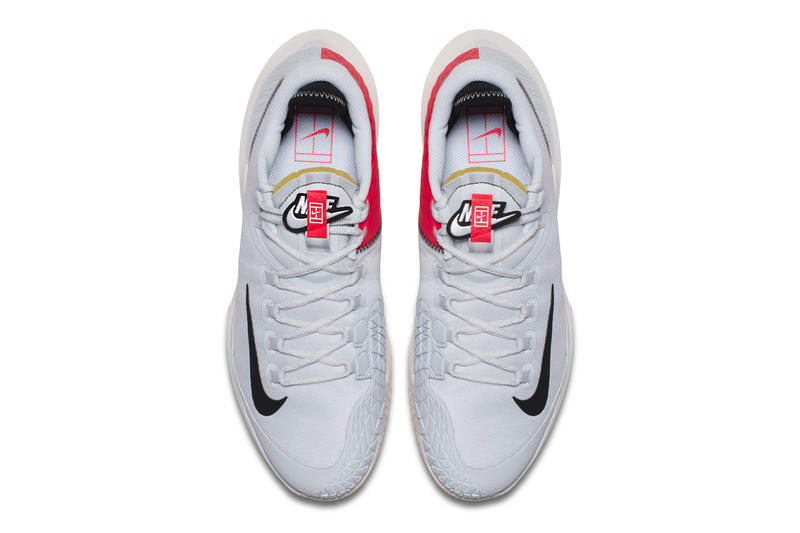 "NikeCourt Air Zoom Zero QS ""Platinum/Red Orbit"""