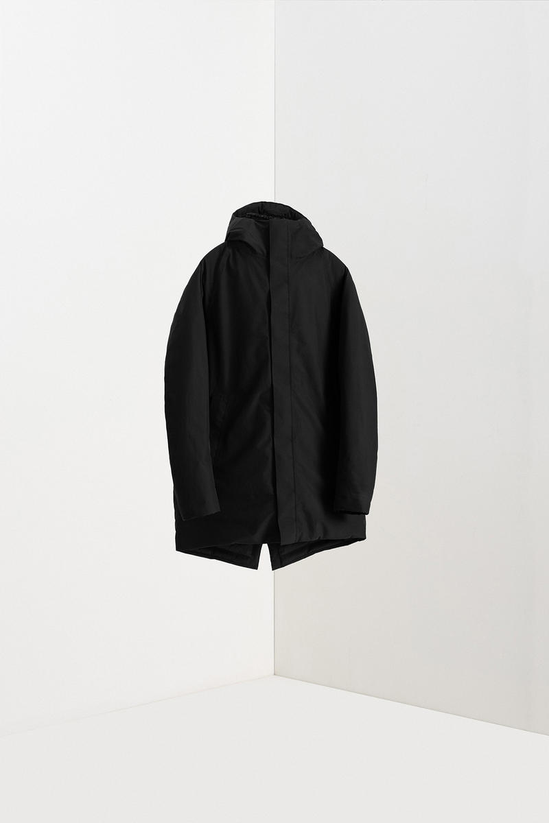 Norse Projects and GORE-TEX Autumn 2018 Release Beige Black Navy Long Coat Thor Rokkvi FYN PFCEC