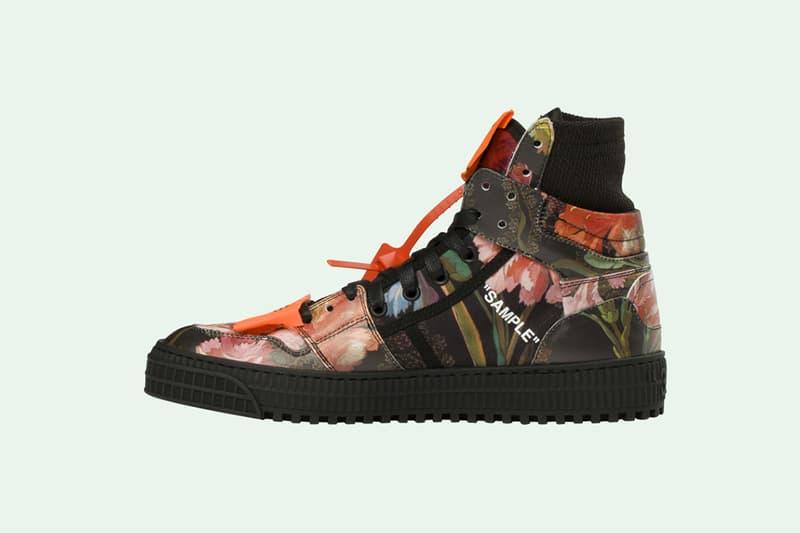 off white floral off court sneaker virgil abloh 2018 footwear women