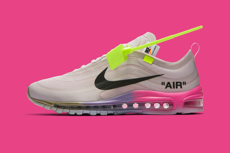 Serena Williams' Off-White™ x Nike Air Max 97 Surprise Online Release |  HYPEBEAST