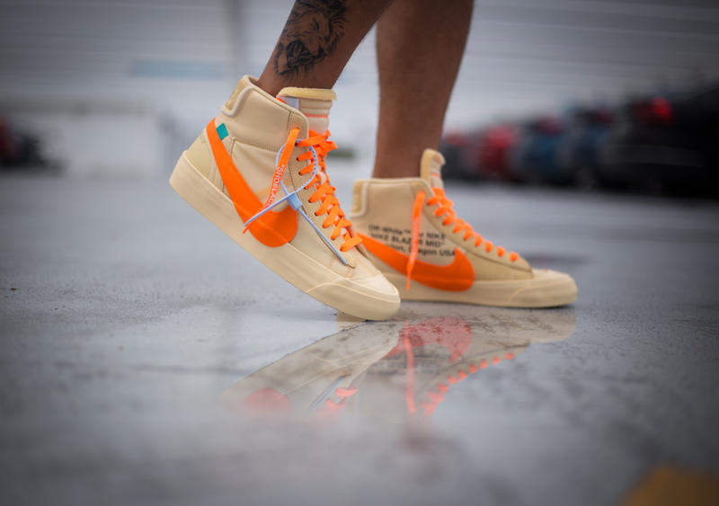 wähle authentisch näher an besserer Preis Off-White™ x Nike Blazer All Hallow's Eve On Foot | HYPEBEAST