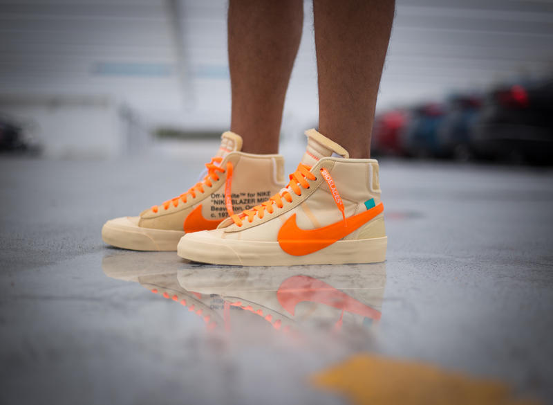 Off-White™ x Nike Blazer All Hallow's Eve On Foot