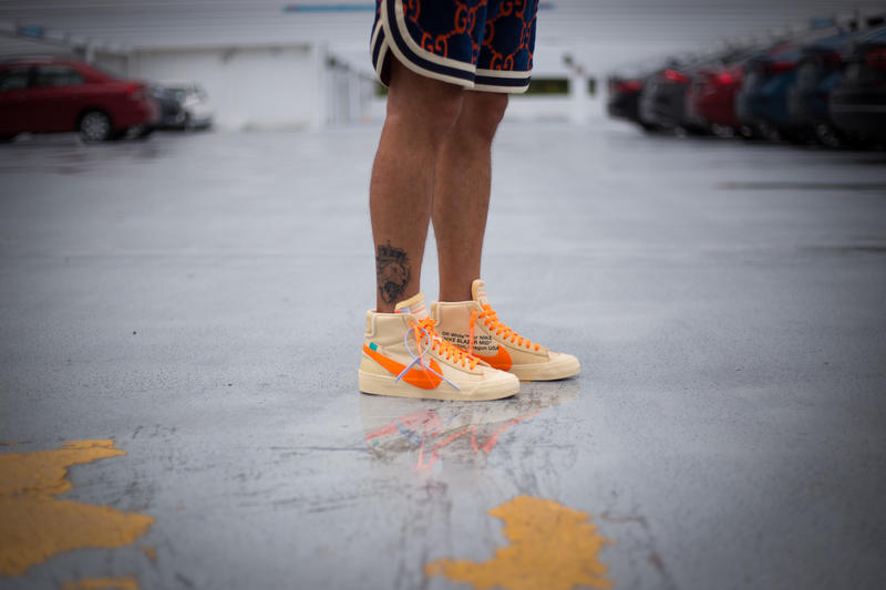 best service d503e e41f2 Off-White™ x Nike Blazer All Hallow s Eve On Foot