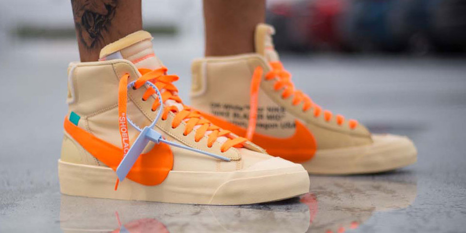 9fb797f14a843 Off-White™ x Nike Blazer All Hallow's Eve On Foot | HYPEBEAST