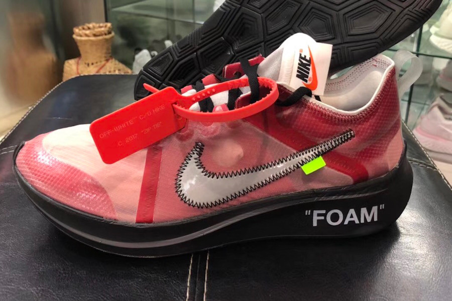 5f638d7539d6f Images of an Off-White™ x Nike Zoom Fly SP Promo Sample Surfaces