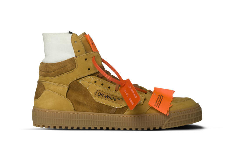 f2885d027aac Off-White off court sneaker camel suede tan beige drop release date info  closer look