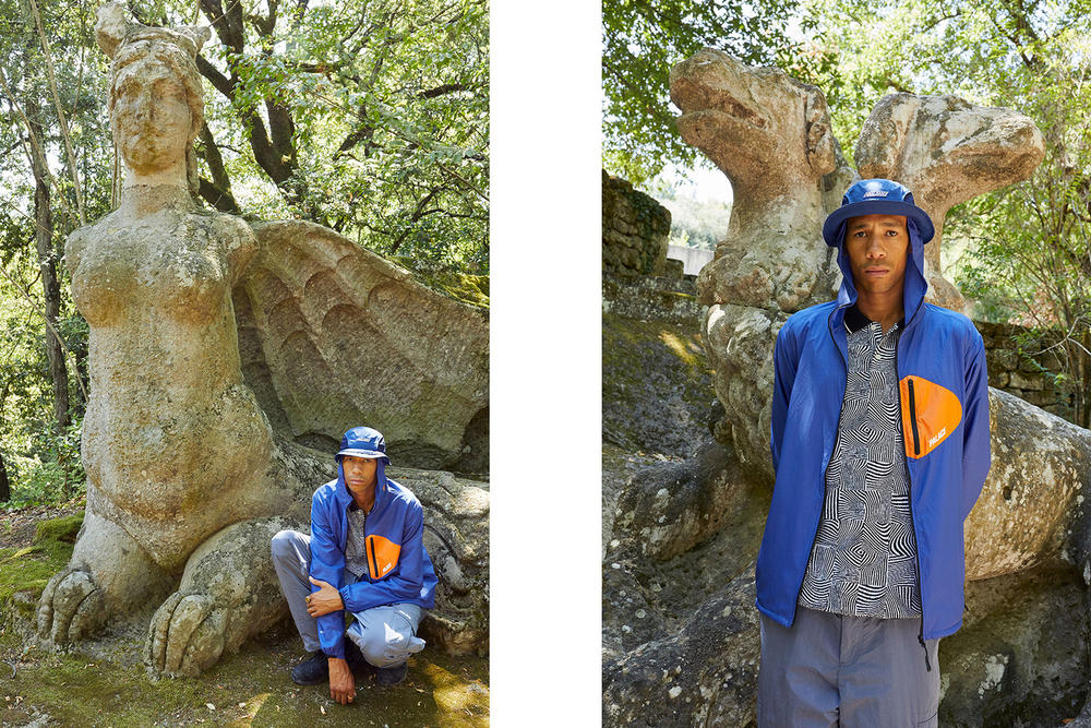 Palace Skateboards Fall Autumn 2018 Juergen Teller Lookbook Clothing Fashion Collection Blondey McCoy Lucien Clarke Rory Milanes Fergus Purcell Lev Tanju Release Information Details New York Tokyo London online web store shirt jacket hoodie T-shirt graphic print